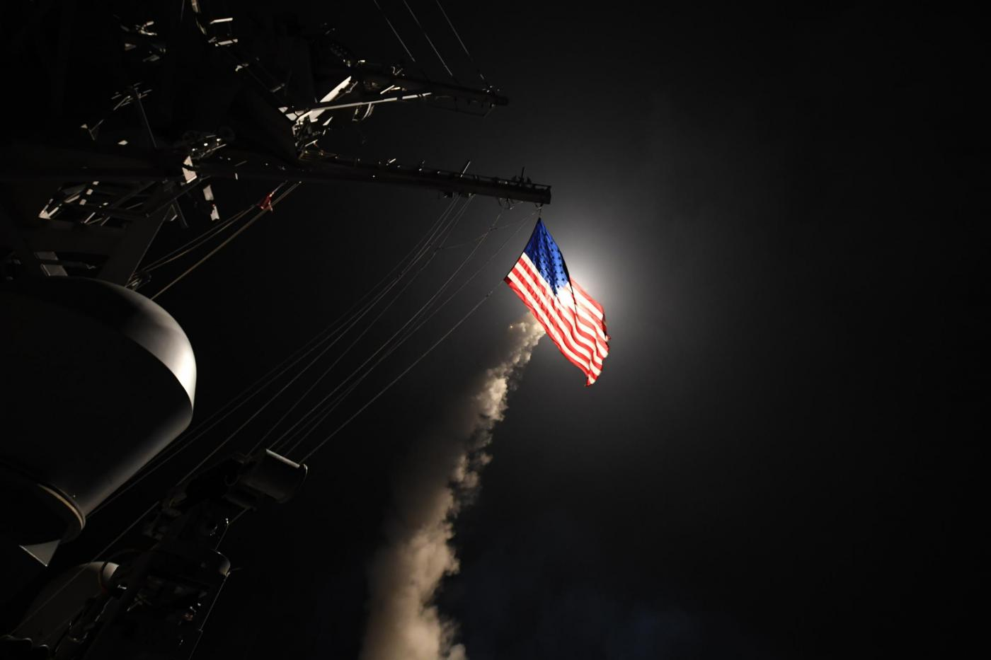 Lancio missili Usa contro base area in Siria