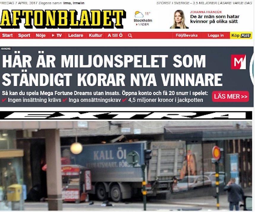 Attentati con camion: tutti i precedenti di Stoccolma