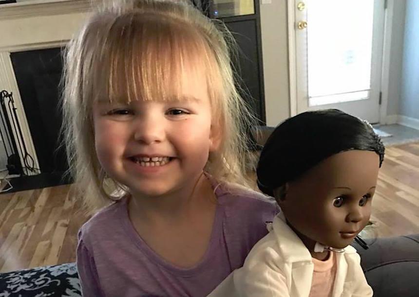 bimba bambola nera