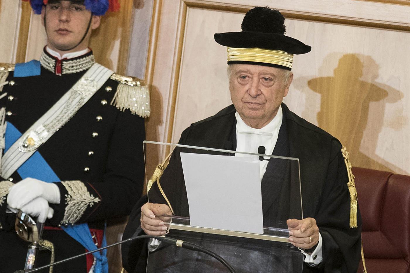 Roma, insediamento del nuovo Presidente della Corte dei Conti