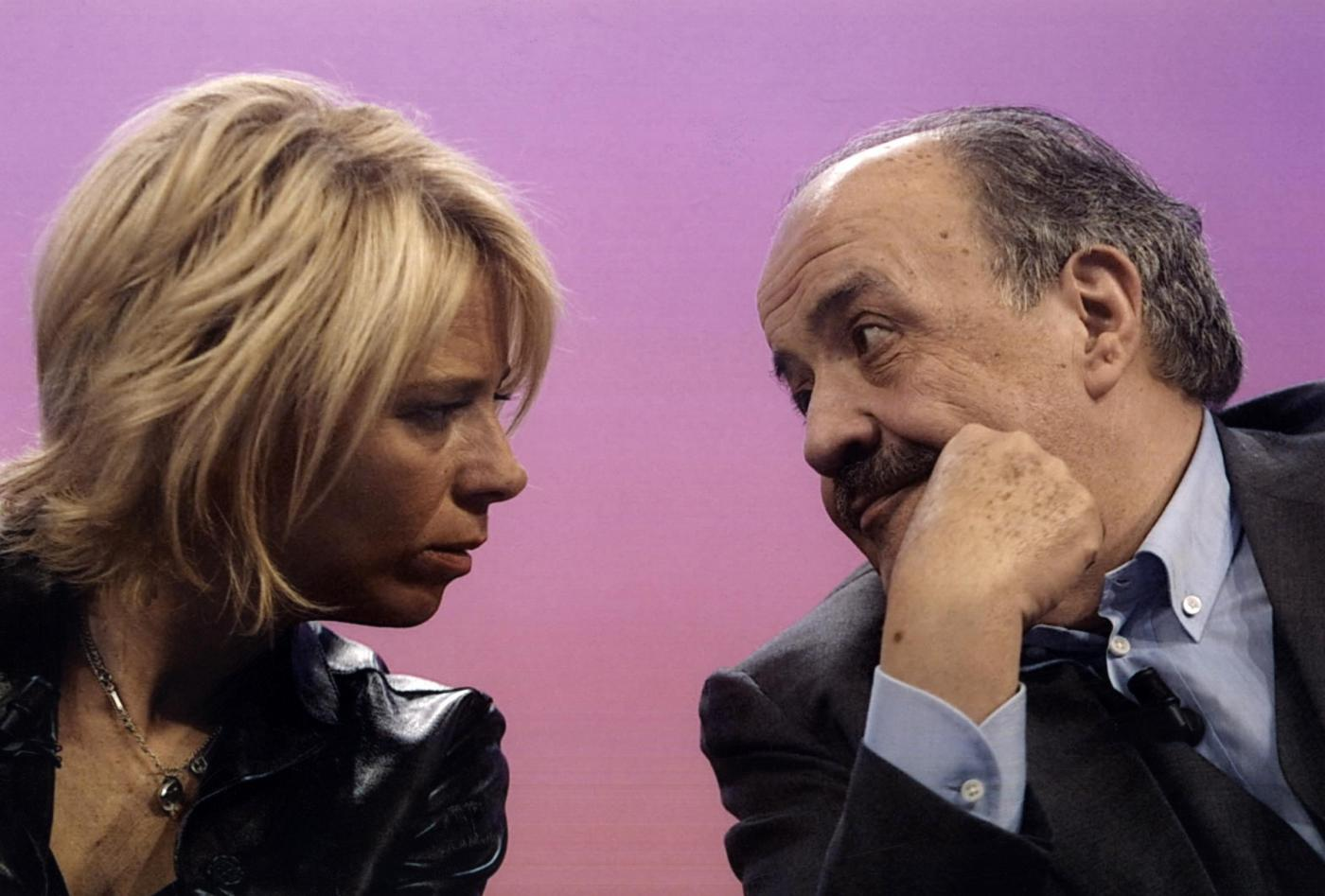Maurizio Costanzo Maria De Filippi
