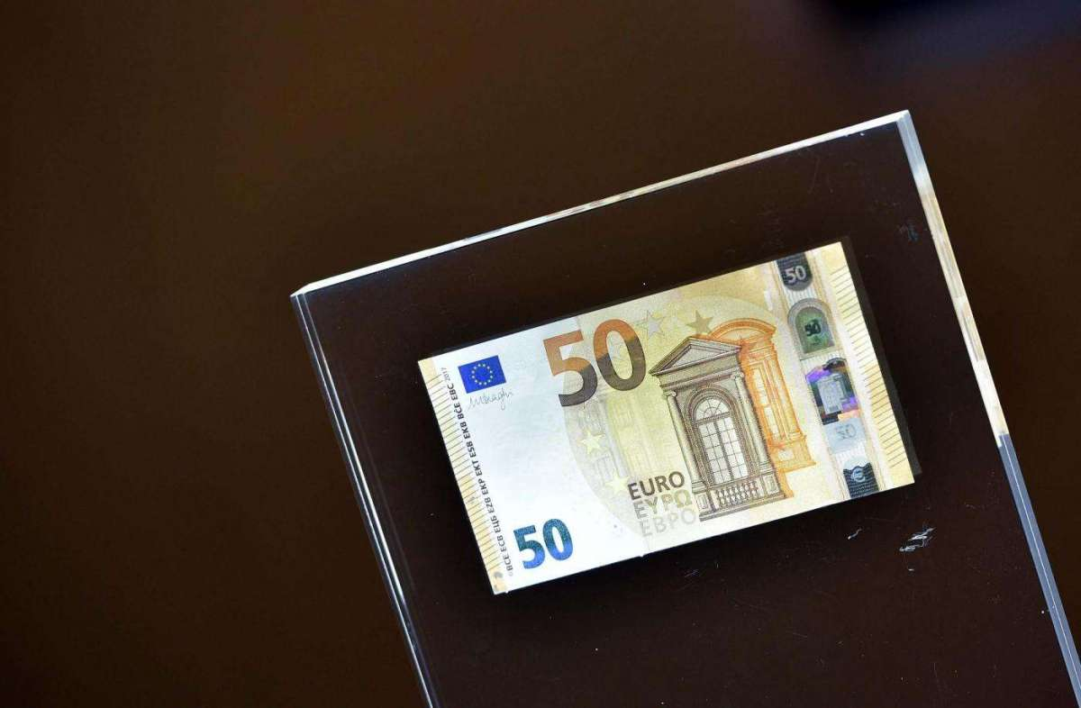 eb3d5fb6cd La nuova banconota da 50 Euro presentata dalla Banca d'Italia ...