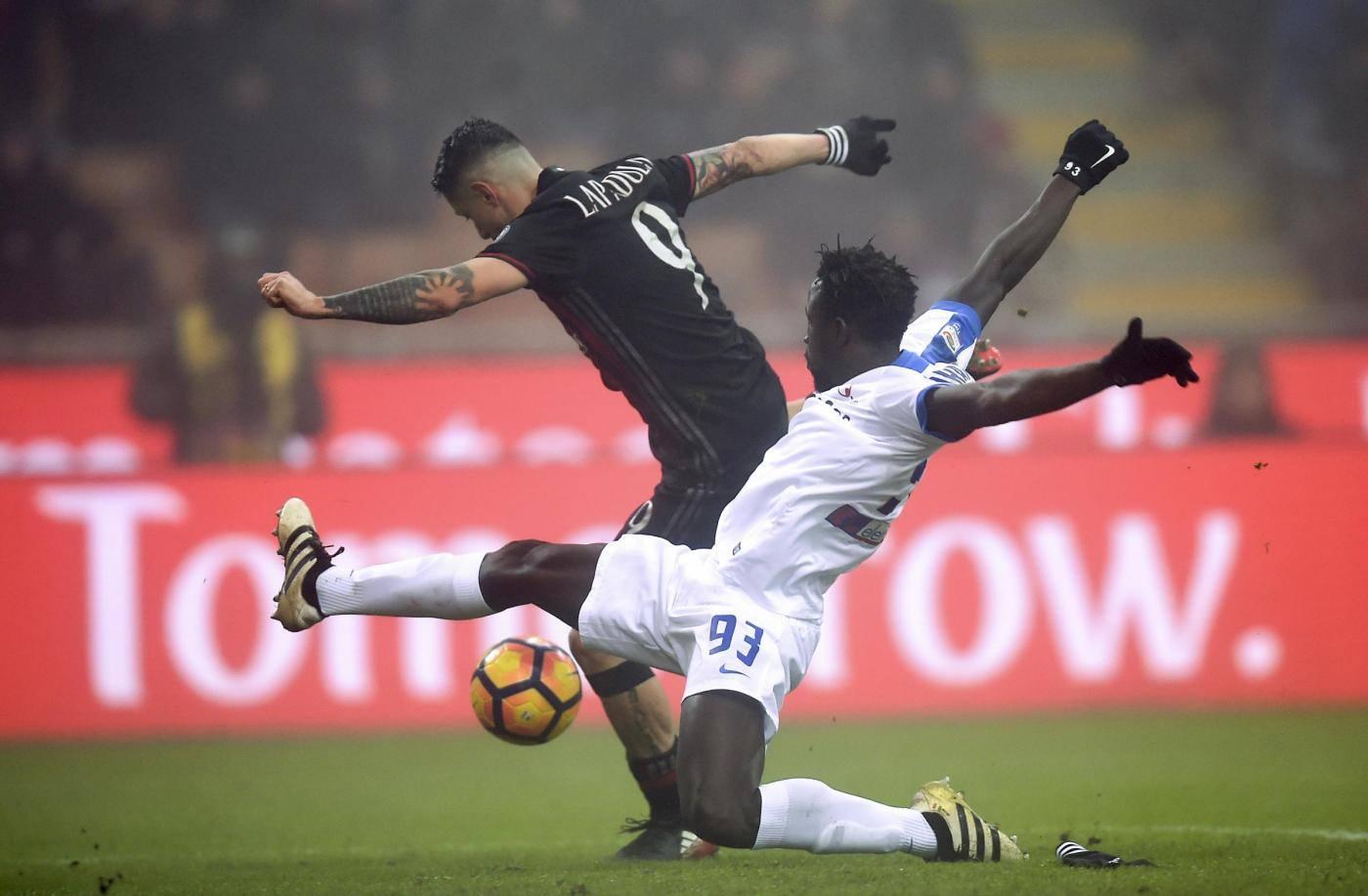 (SP)ITALY MILAN FOOTBALL SERIE A