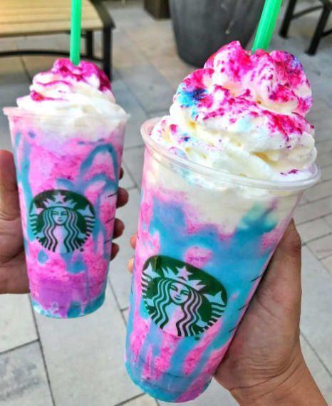 Frappuccino Unicorno Starbucks