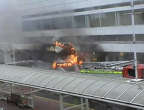 BRITAIN AIRPORT CRASH