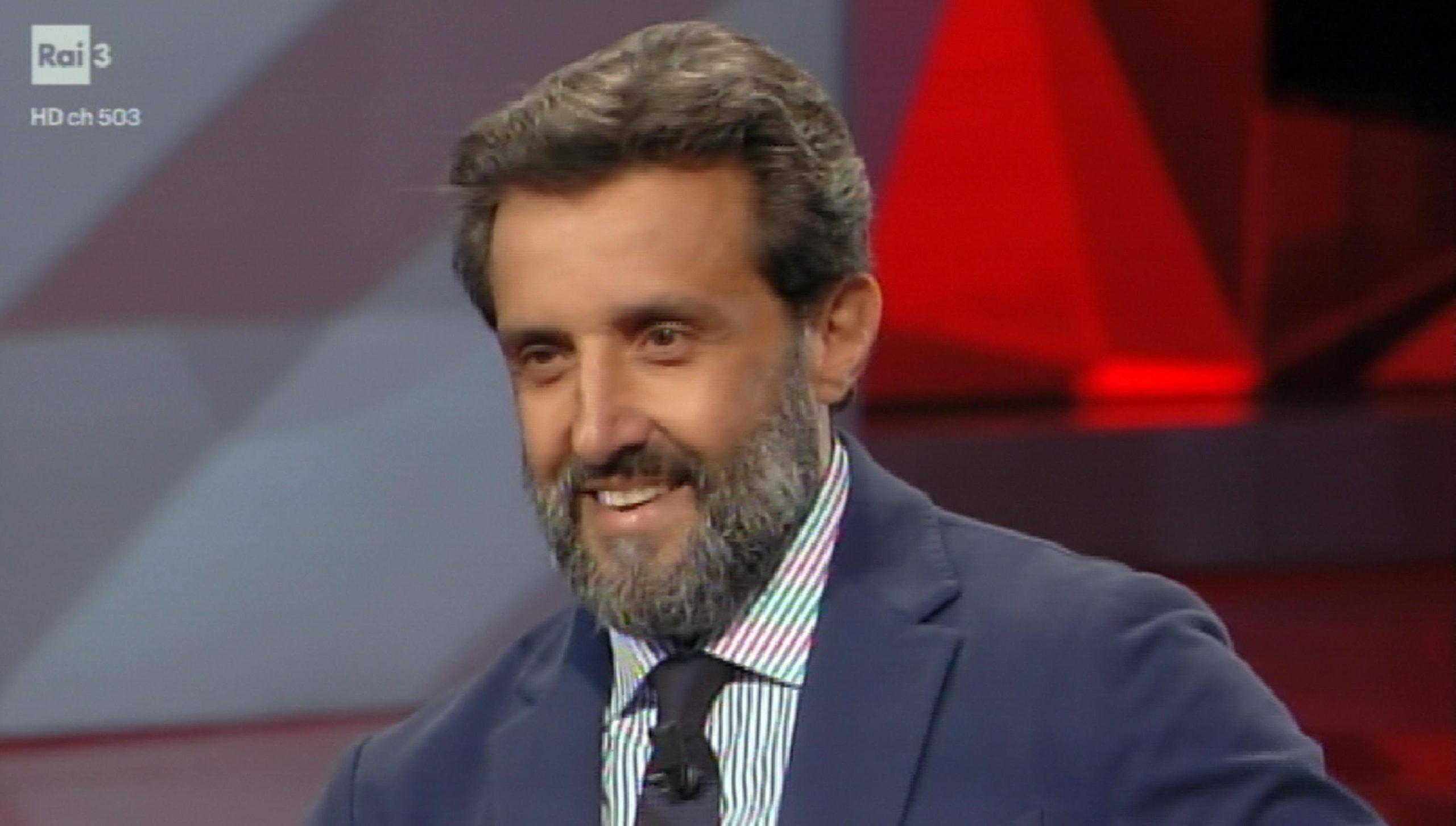 Flavio Insinna a Cartabianca: 'Contro di me attacchi violentissimi: mi vergogno ma non cambio'