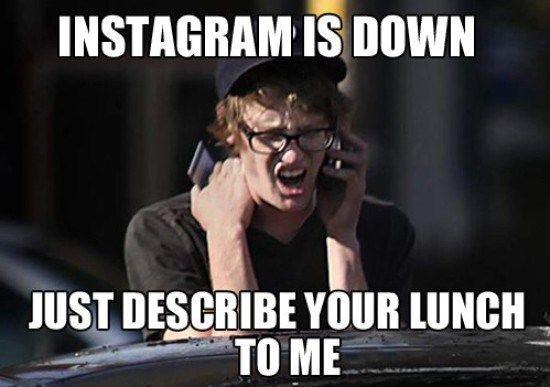Instagram food porn
