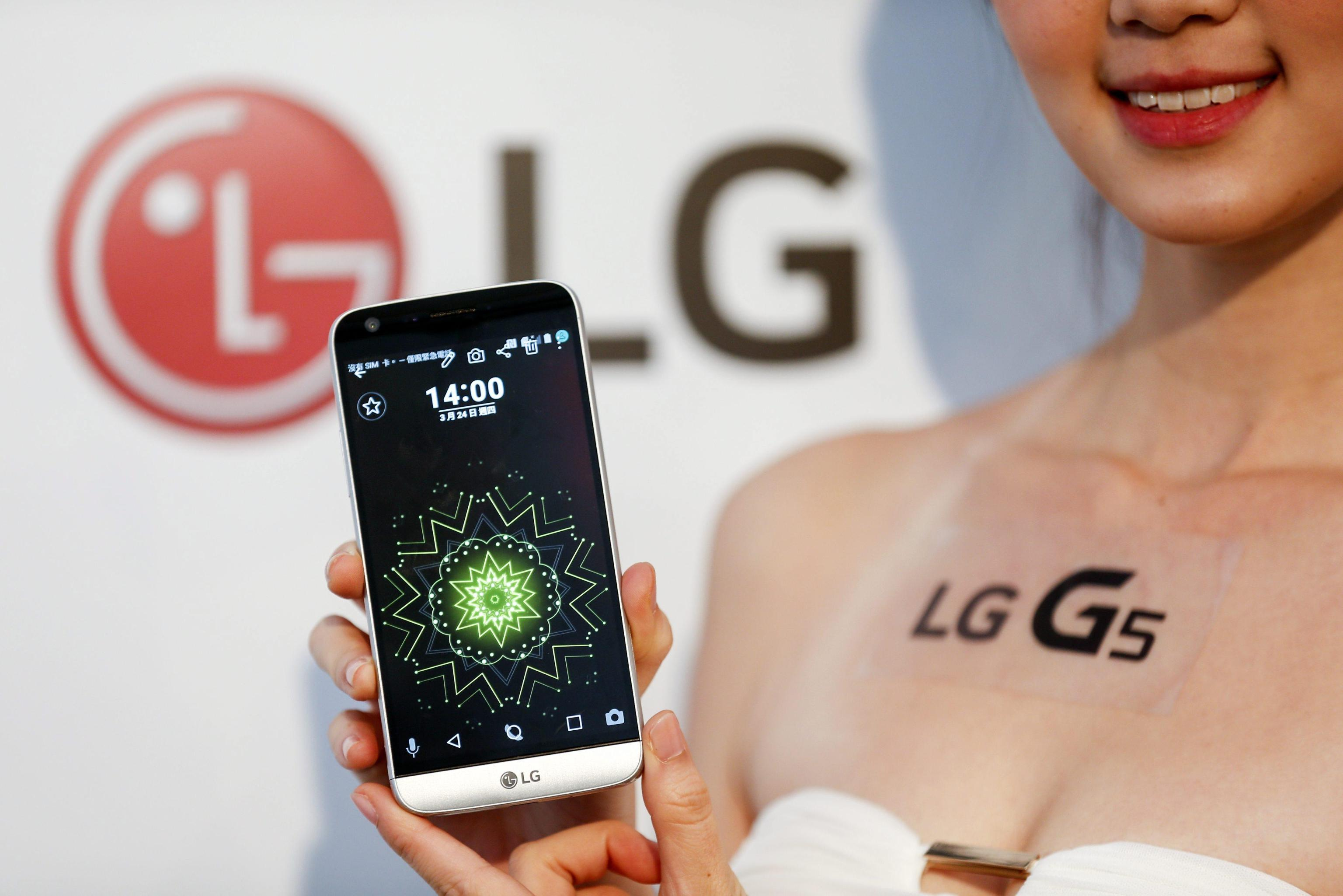 LG G5 promotional show in Taipei
