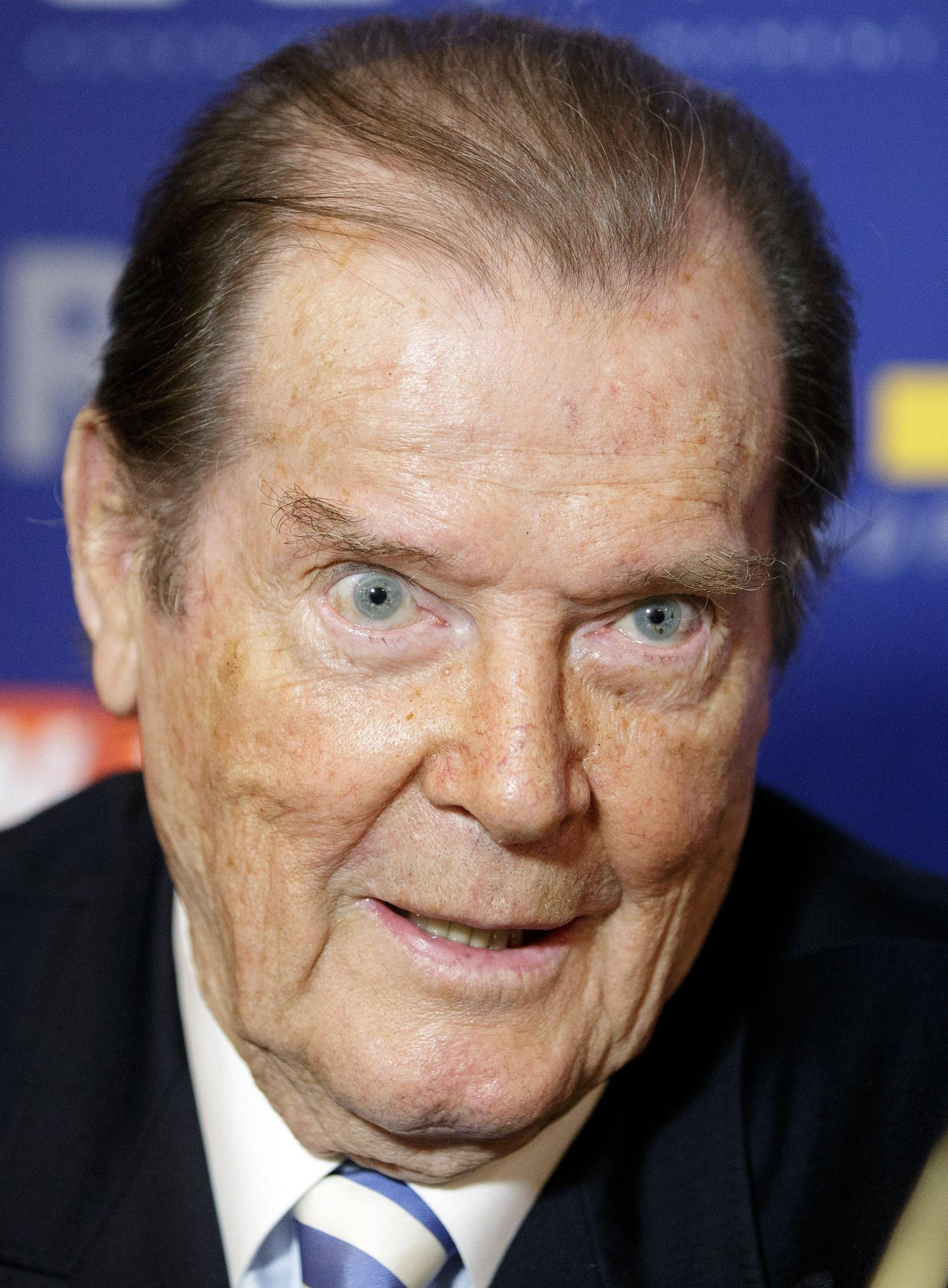 Roger Moore died in Switzerland