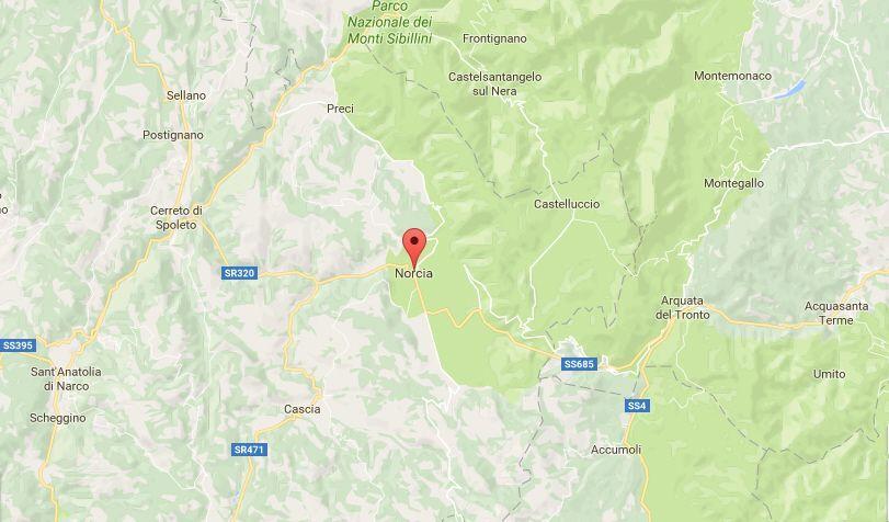 Terremoto in Umbria, oggi 23 maggio 2017: colpita la provincia di Perugia