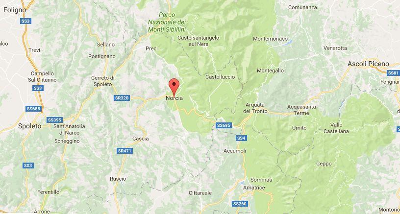 Terremoto in Umbria, oggi 15 maggio 2017: colpita la provincia di Perugia