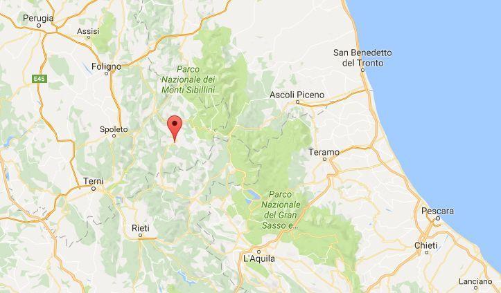 Terremoto in Umbria, oggi 05 maggio 2017: nuove scosse in provincia di Perugia