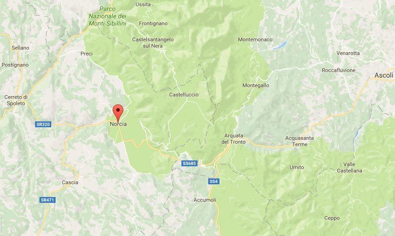 Terremoto in Umbria, oggi, 22 maggio 2017: colpita la provincia di Perugia