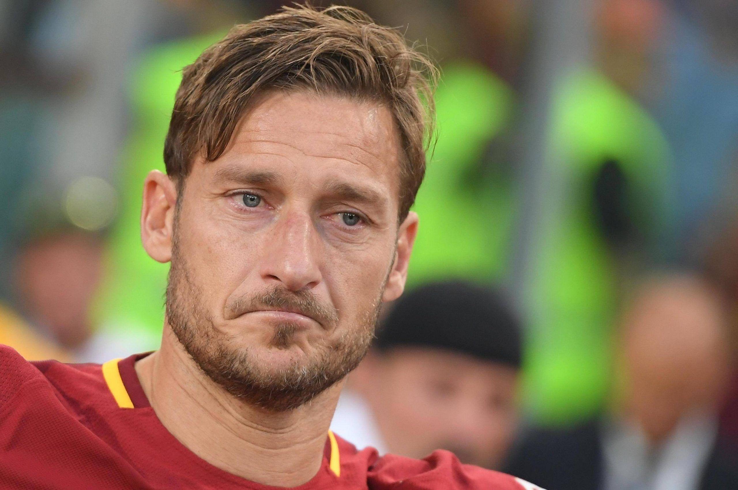 """Francesco Totti e il discorso d'addio: """"Ora ho paura"""""""