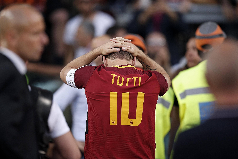 Soccer: Serie A: Roma Genoa