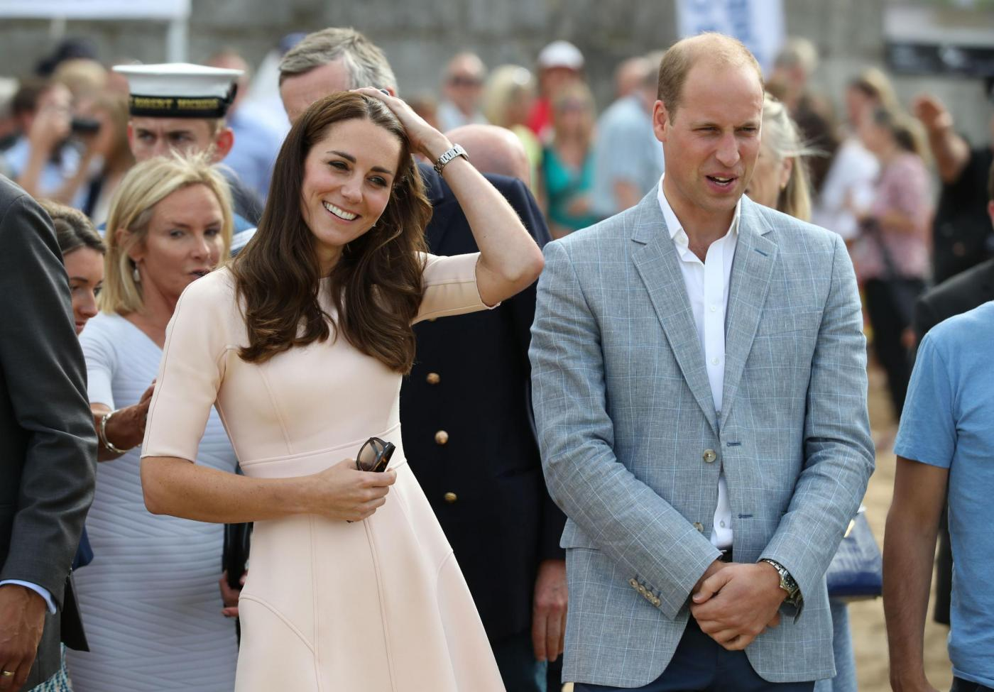 Kate e William in visita in Cornovaglia