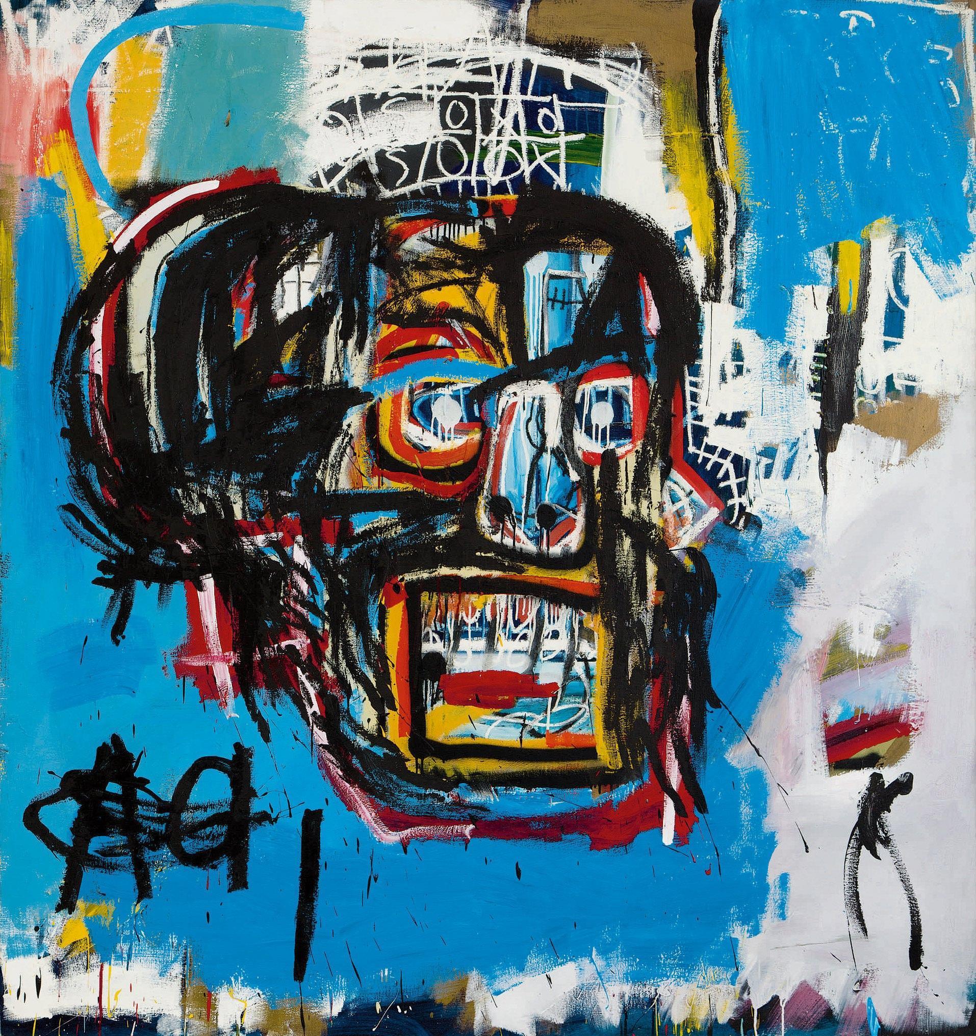 Basquiat, asta record per un 'teschio': venduto a New York a 110 milioni di dollari