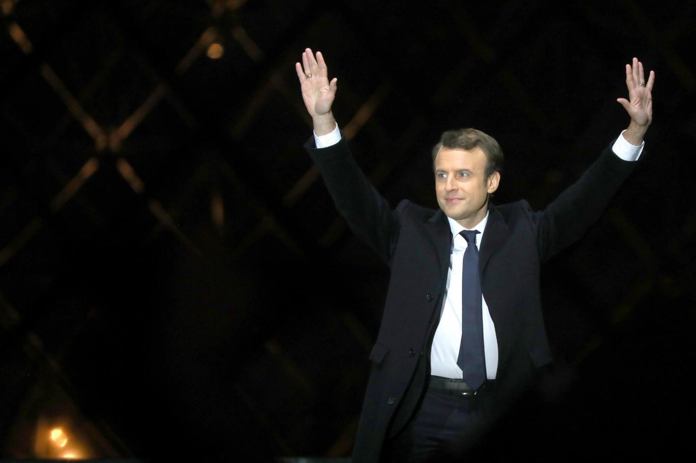 Macron, il discorso dopo la vittoria alle elezioni