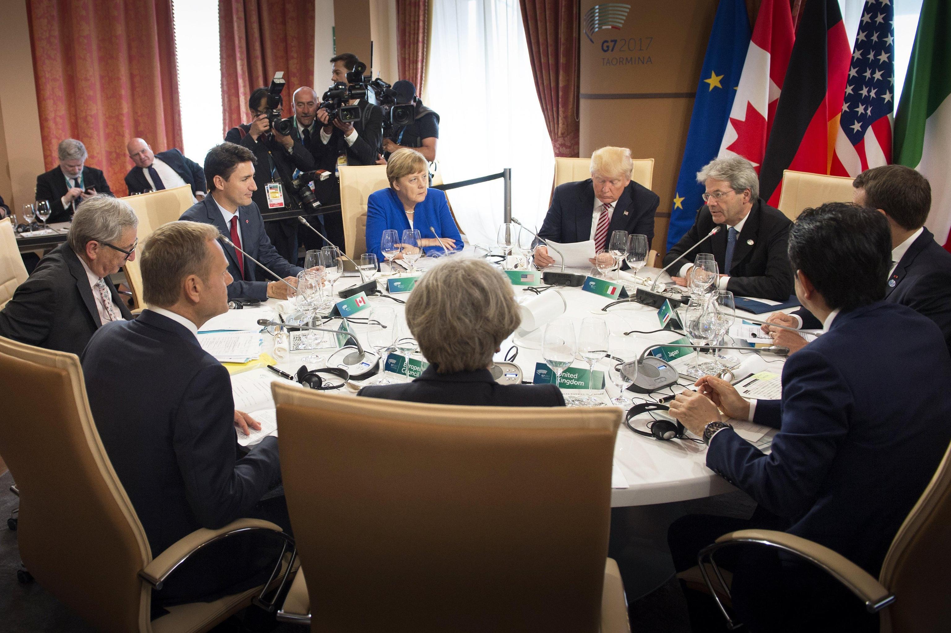 G7 Summit in Taormina