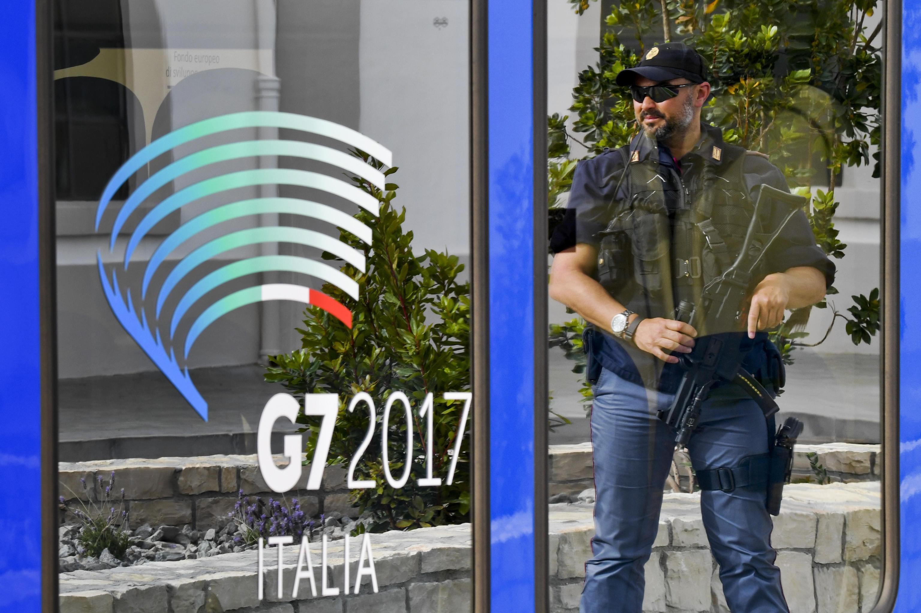 G7:definite zone sicurezza Taormina,stop scuole.
