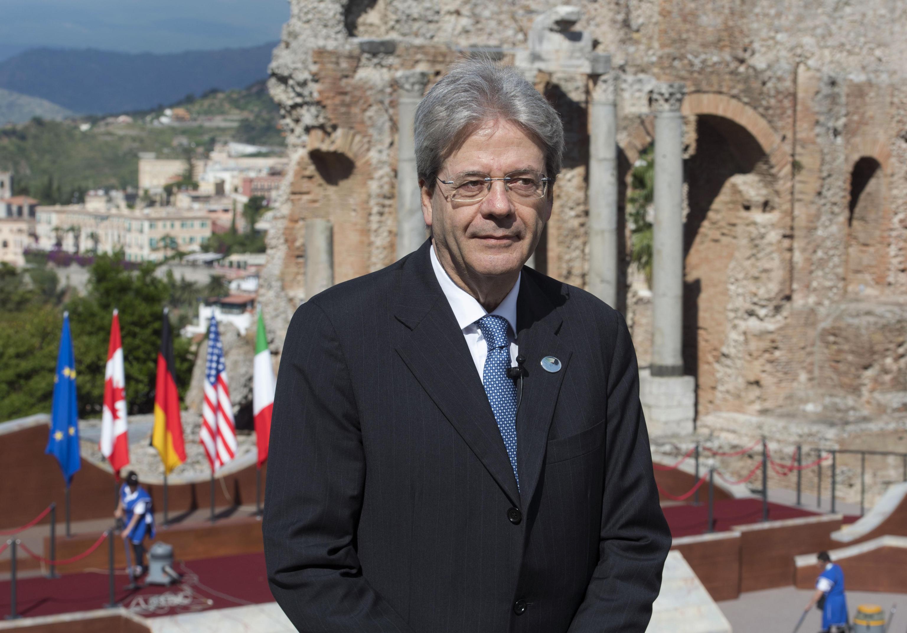 G7: Gentiloni a Taormina