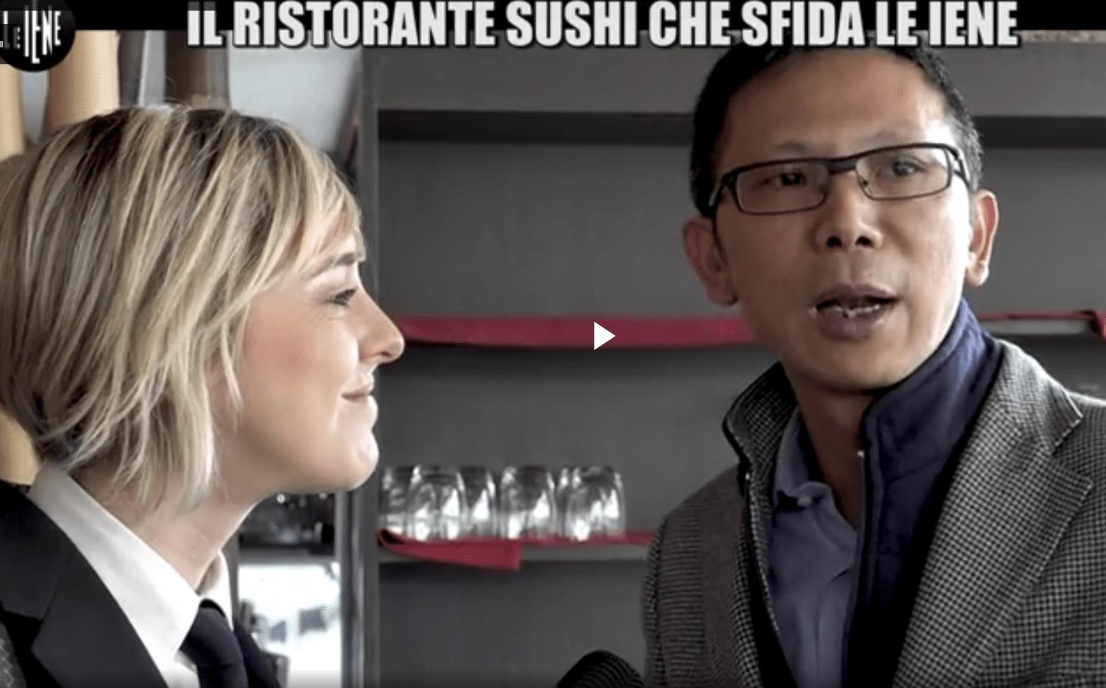 Il sushi di Feng a Milano vince la sfida a Le Iene e a Nadia Toffa