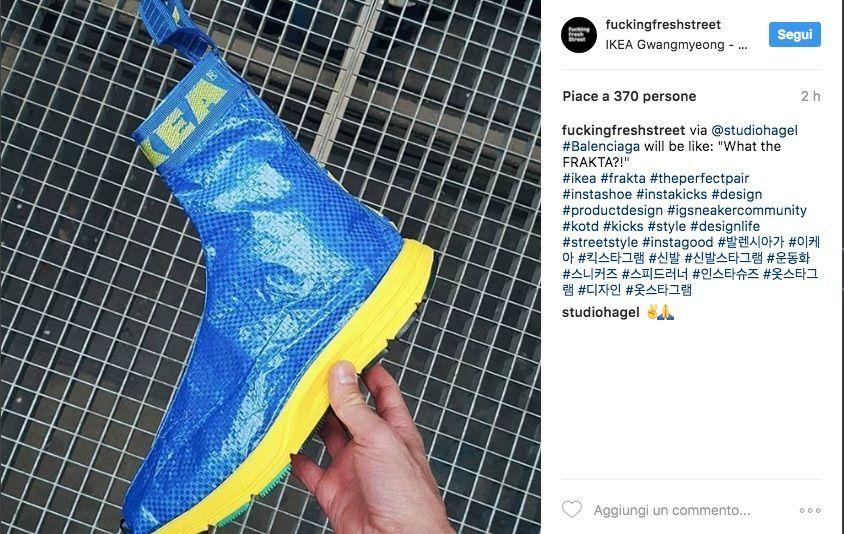 Ikea Frakta, abiti e accessori ricavati dalla borsa blu impazzano sul web