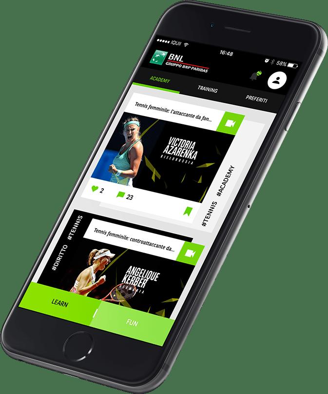 L'App che ti fa scoprire le tecniche dei campioni del Tennis