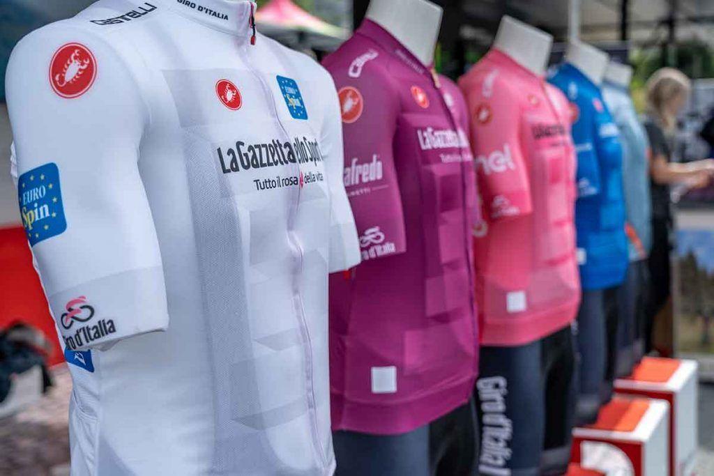 Maglie colorate del Giro d'Italia