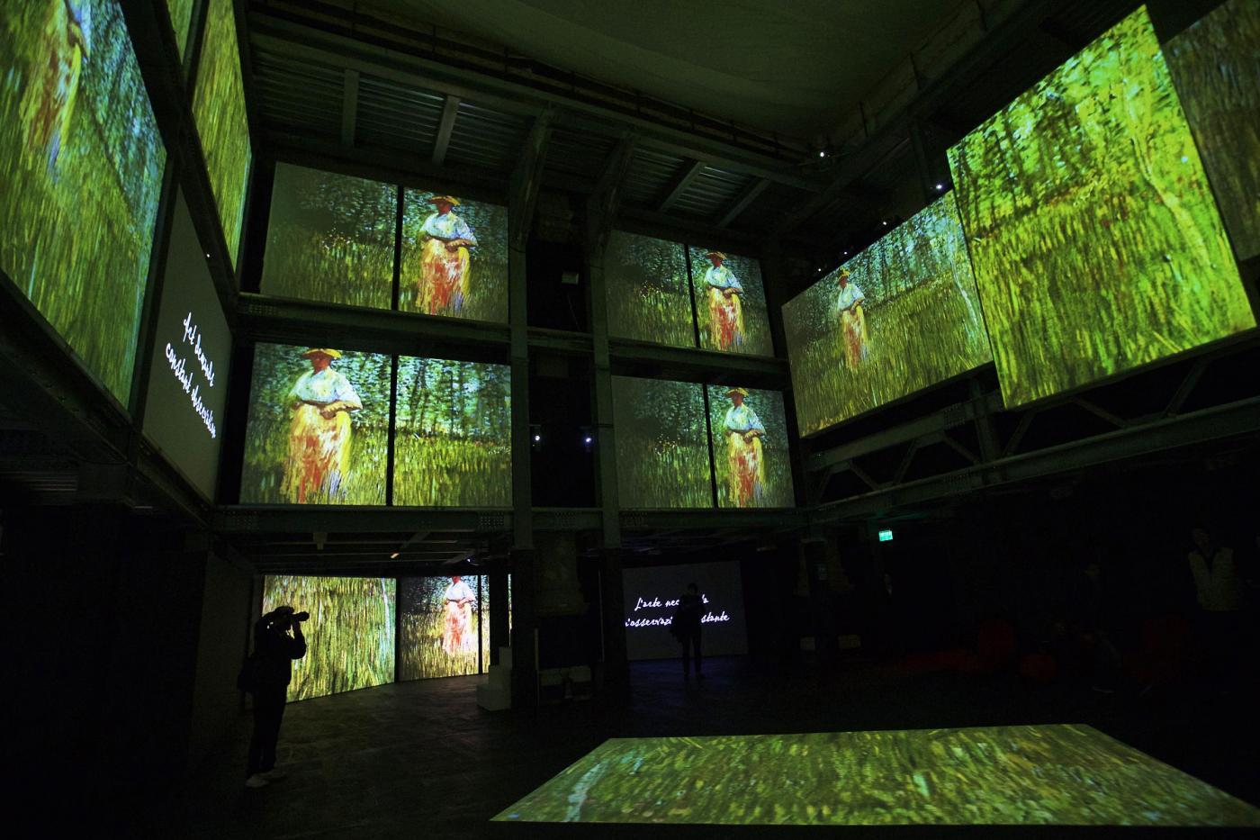 mostra itinerante Van Gogh Alive 2017