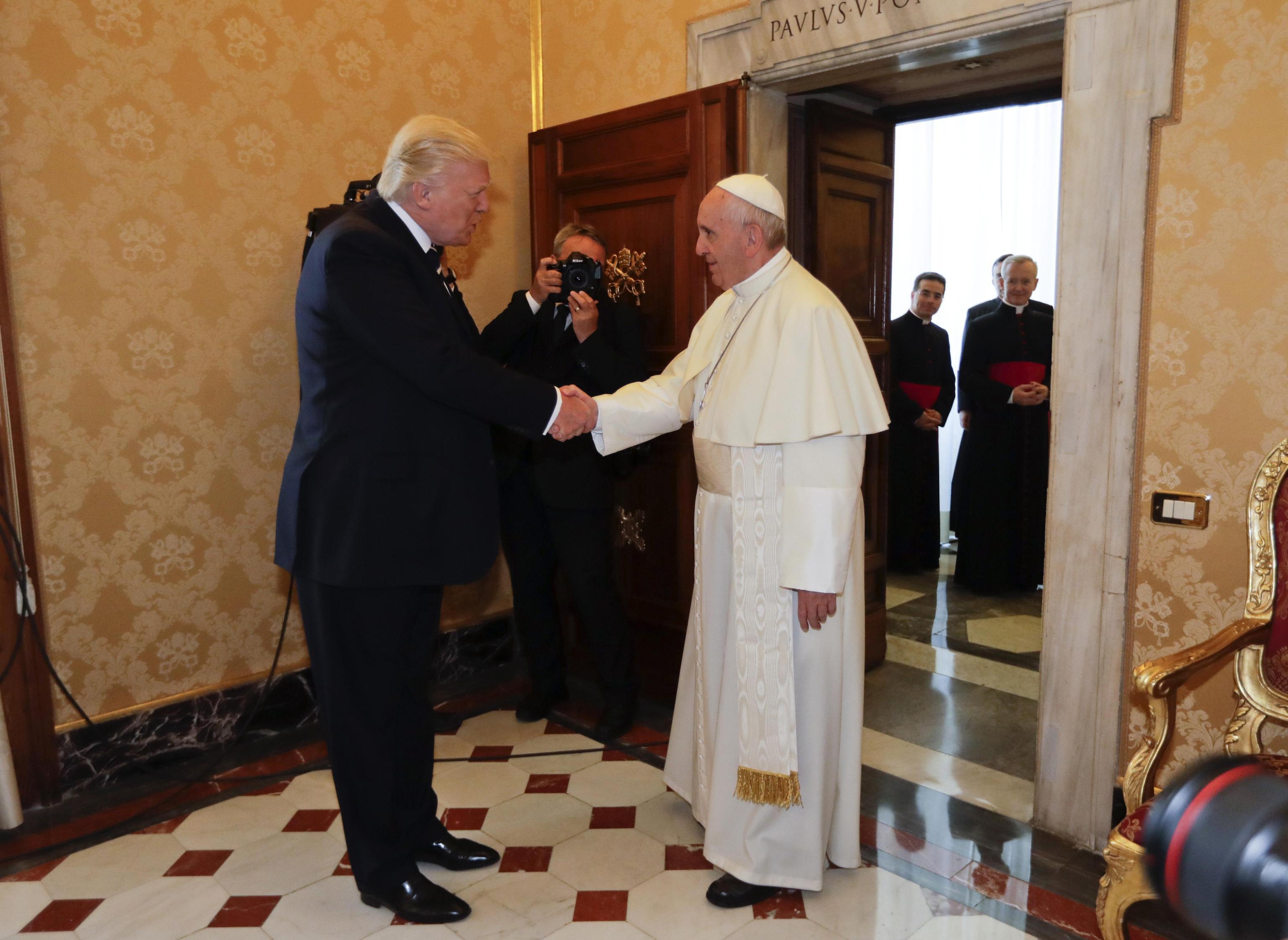Vatican Pope Trump