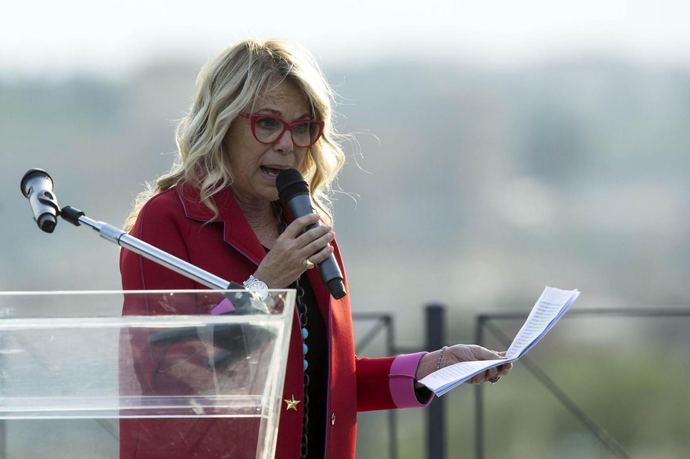 Giorgia Meloni apre la campagna elettorale per la corsa al Campidoglio