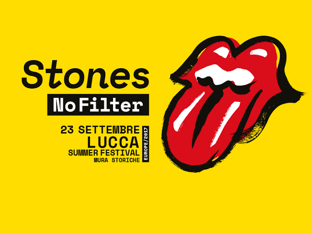 rolling stones lucca poster
