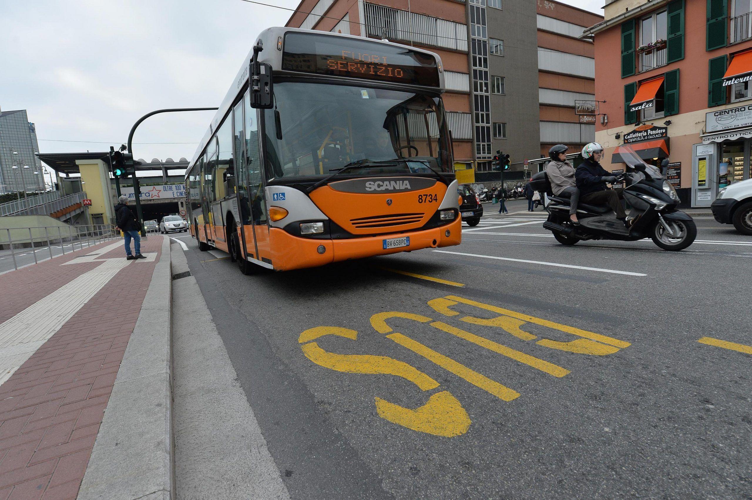 Sciopero Bus a Genova, martedì 30 maggio la protesta del personale Amt