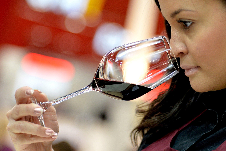 Wine fair ProWein 2017 in Duesseldorf
