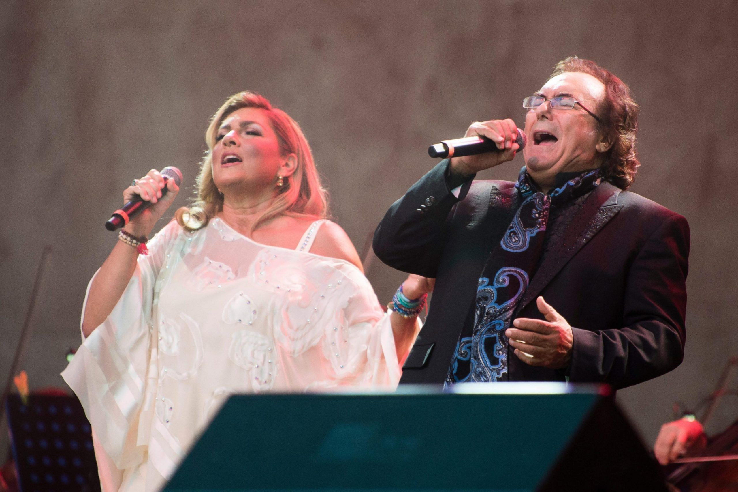 Germany Come back of Albano and Romina Power
