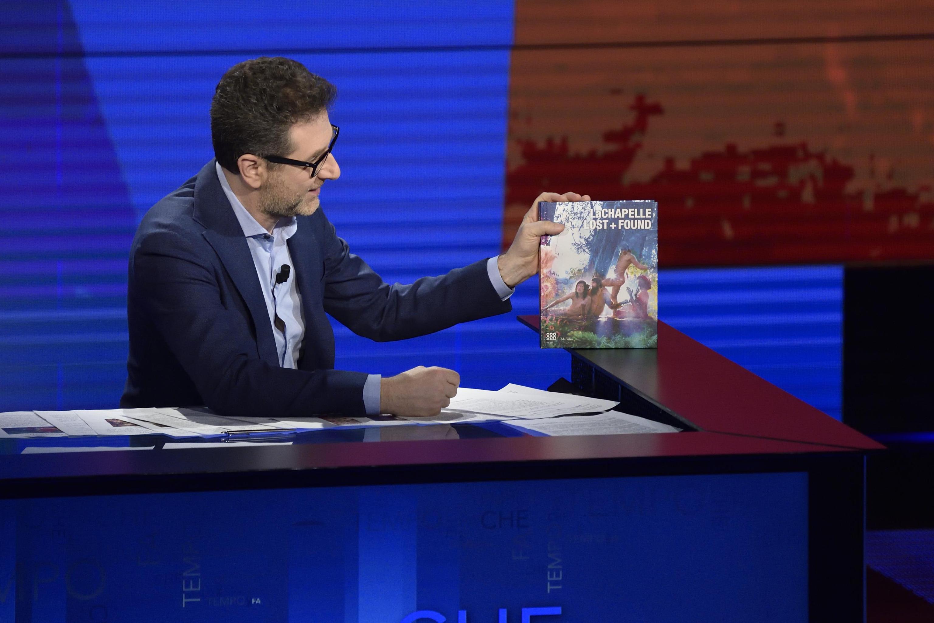 David LaChapelle attends 'Che tempo che fa'