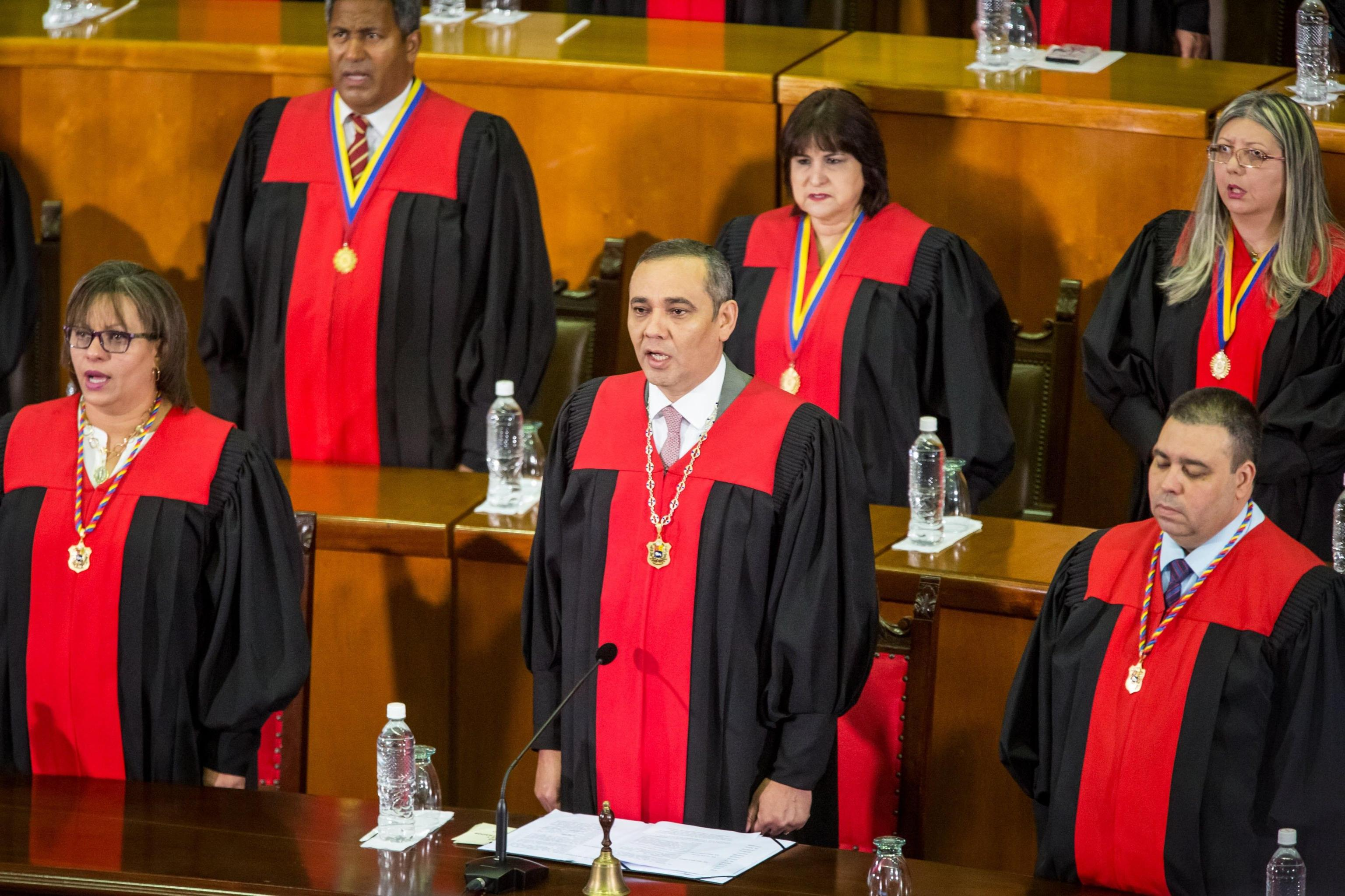 Annual address at the Supreme Court of Justice in Caracas, Venezuela