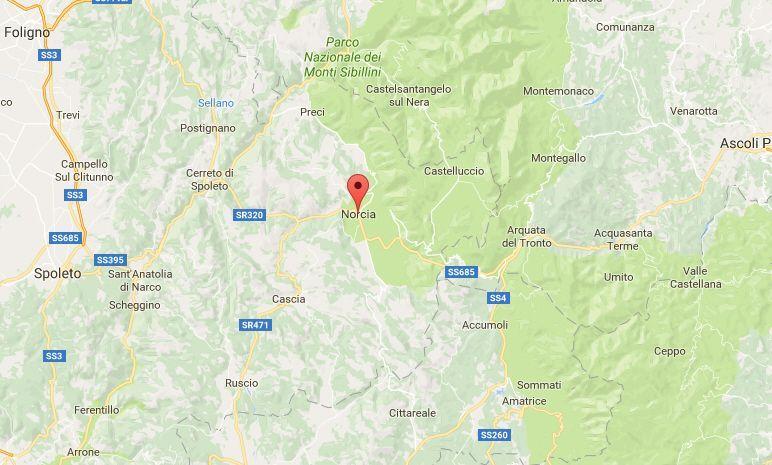 Terremoto in Umbria, oggi 5 giugno 2017: lieve scossa in provincia di Perugia