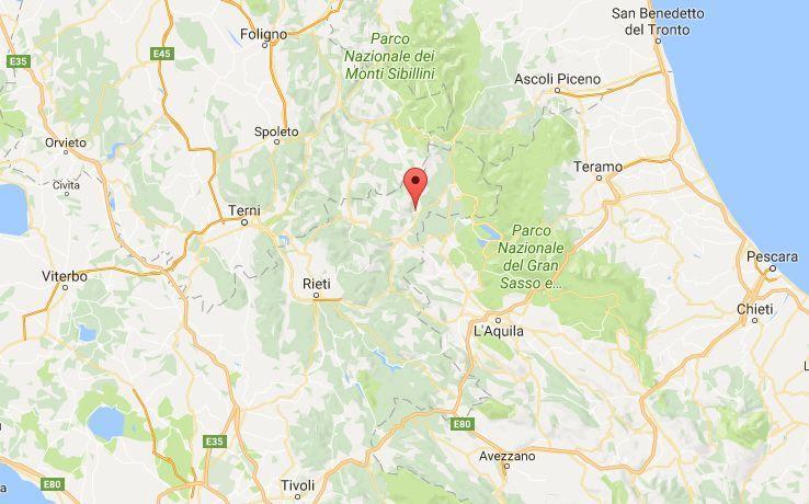 Terremoto nel Lazio