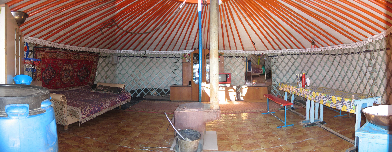 Il pastore che ha sconfitto il terremoto in una yurta