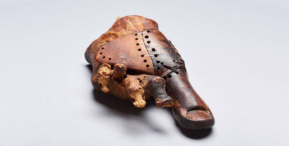 L'alluce in legno: scoperta in Egitto la protesi più antica del mondo
