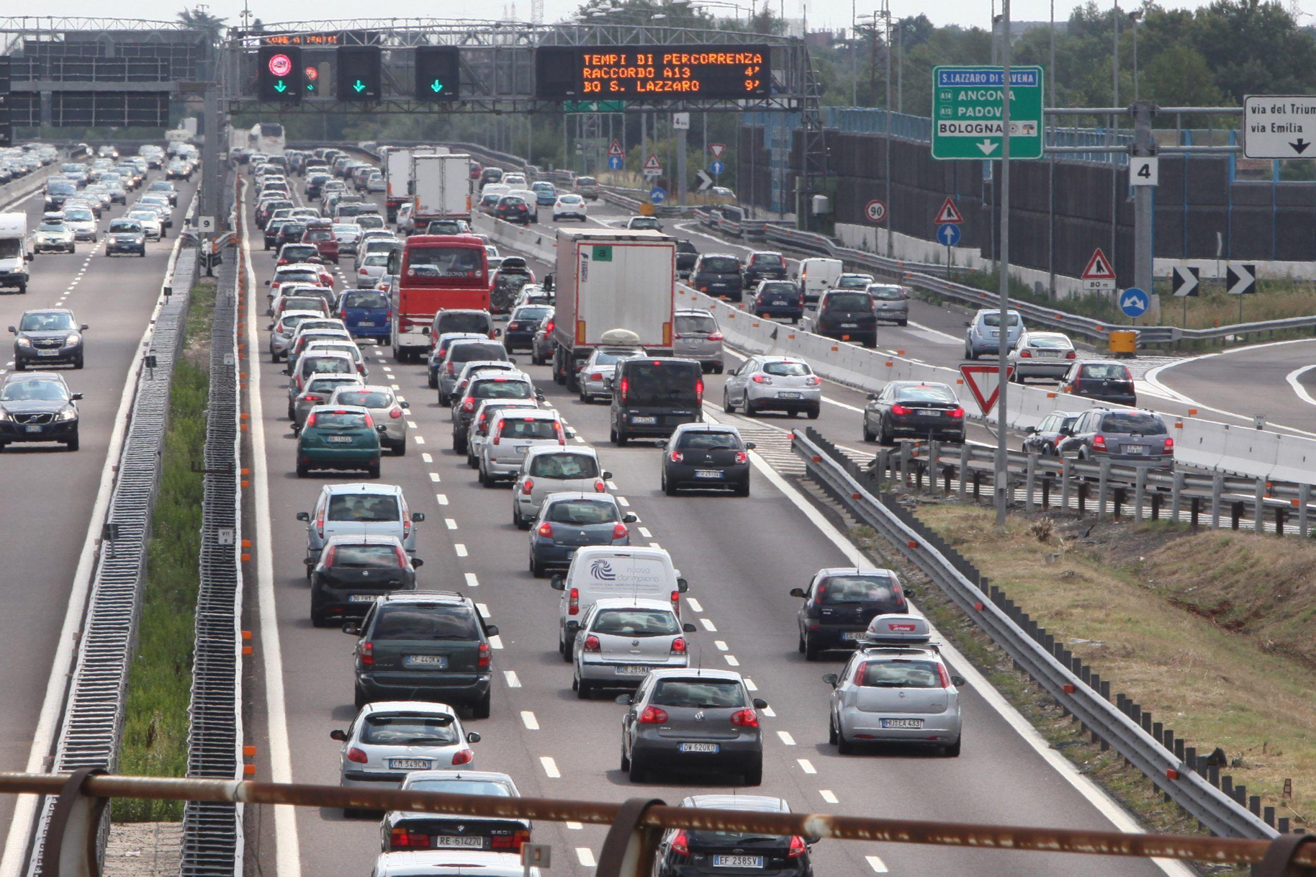 Previsioni traffico di sabato 9 e domenica 10 settembre sulle autostrade italiane