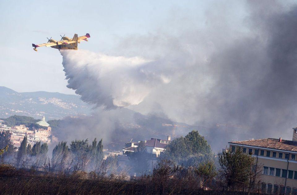 soccorsi incendi