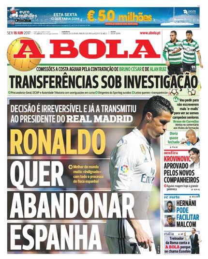 A Bola su Ronaldo