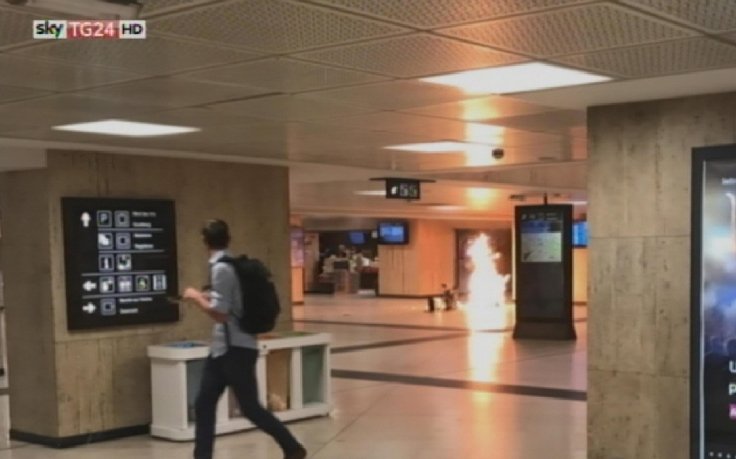 Bruxelles: traffico ferroviario bloccato