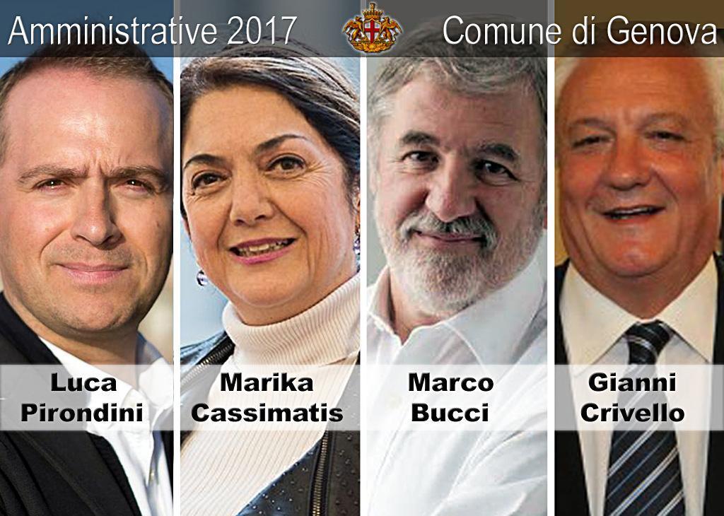 Amministrative 2017 Comune di Genova