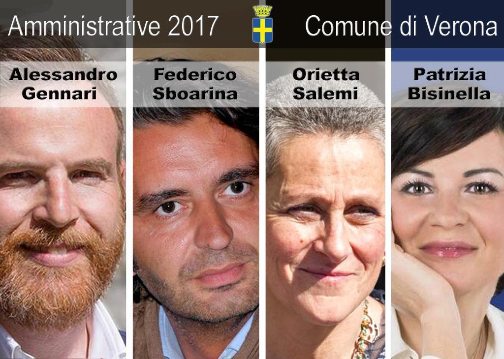 Amministrative 2017 Comune di Verona