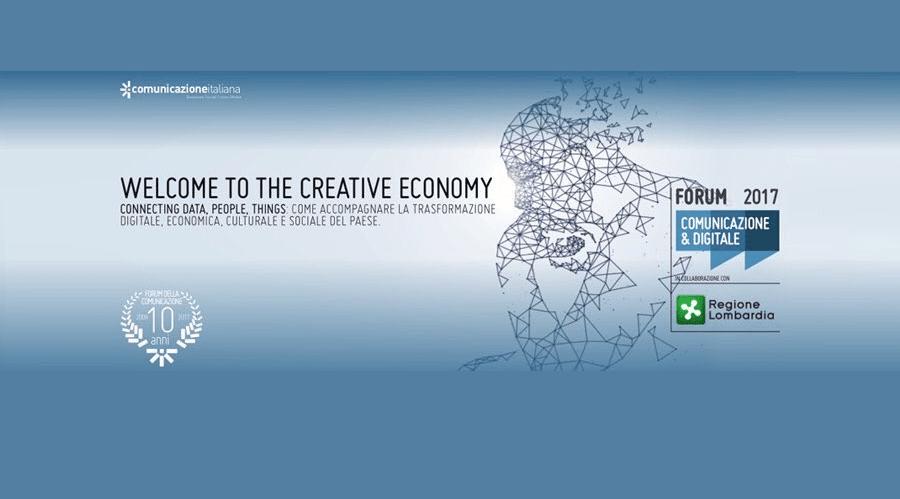 L'uomo al centro del Forum della Comunicazione 2017 alle prese con i cambiamenti dell'economia digitale