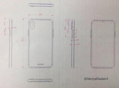 iPhone 8 misure